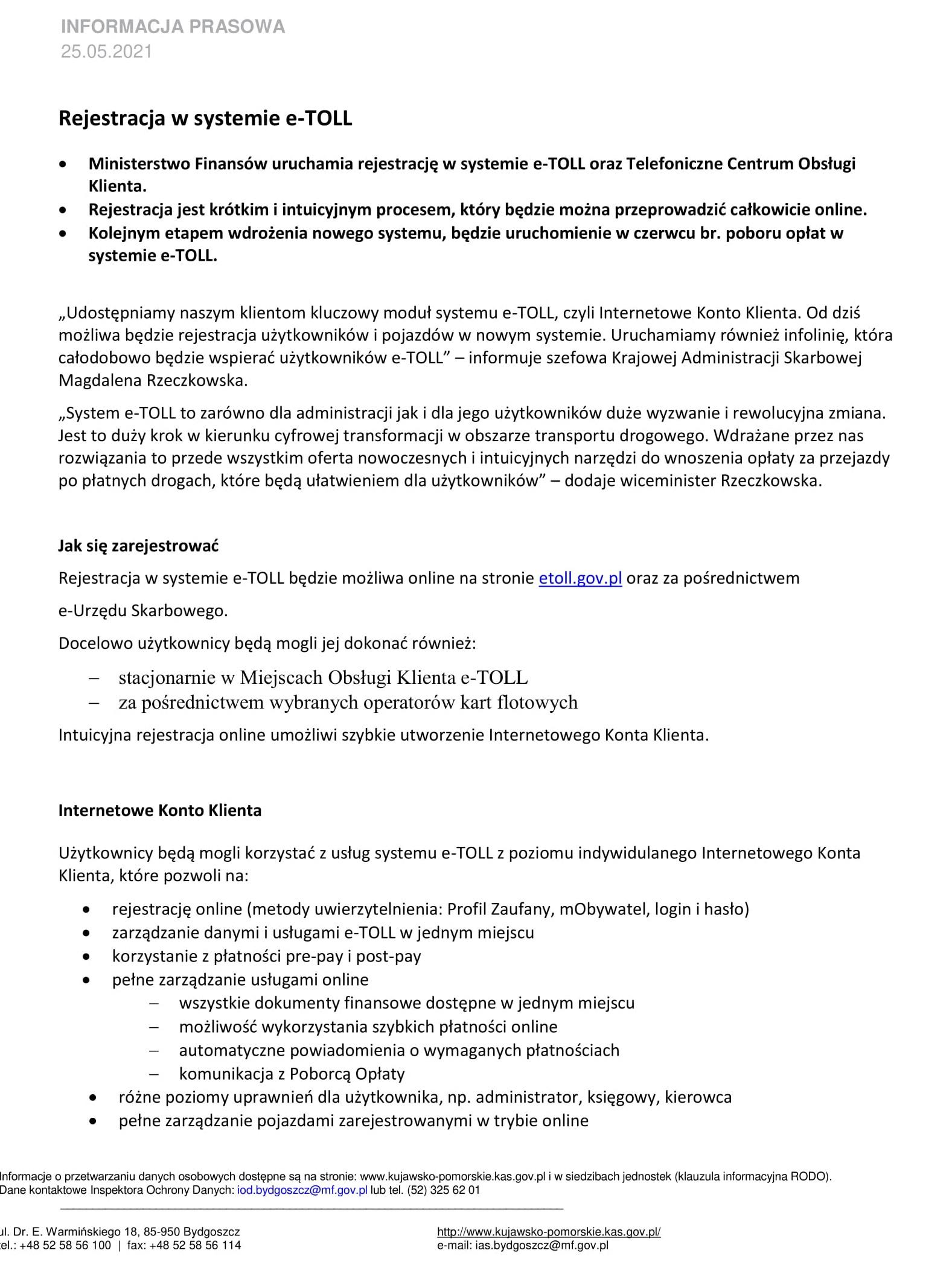 Komunikat - Rejestracja w systemie e-TOLL 25.05.2021 r.-1.jpg (643 KB)